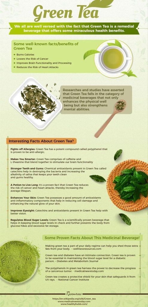 چای سبز و تقویت ایمنی